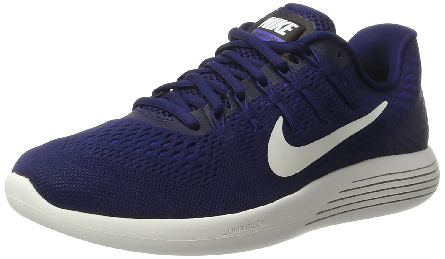 Nike Mens Lunarglide 8, Black / 10 White - Anthracite B01H2Q7O1M 10 / D(M) US|Binary Blue/Summit White/Black 5db399
