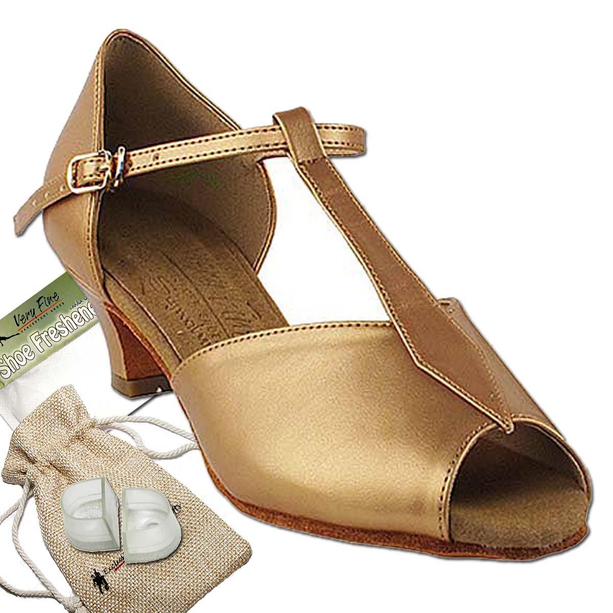 レディース社交ダンスシューズサルサラテン練習靴s2802eb comfortable-very Fine 1.2