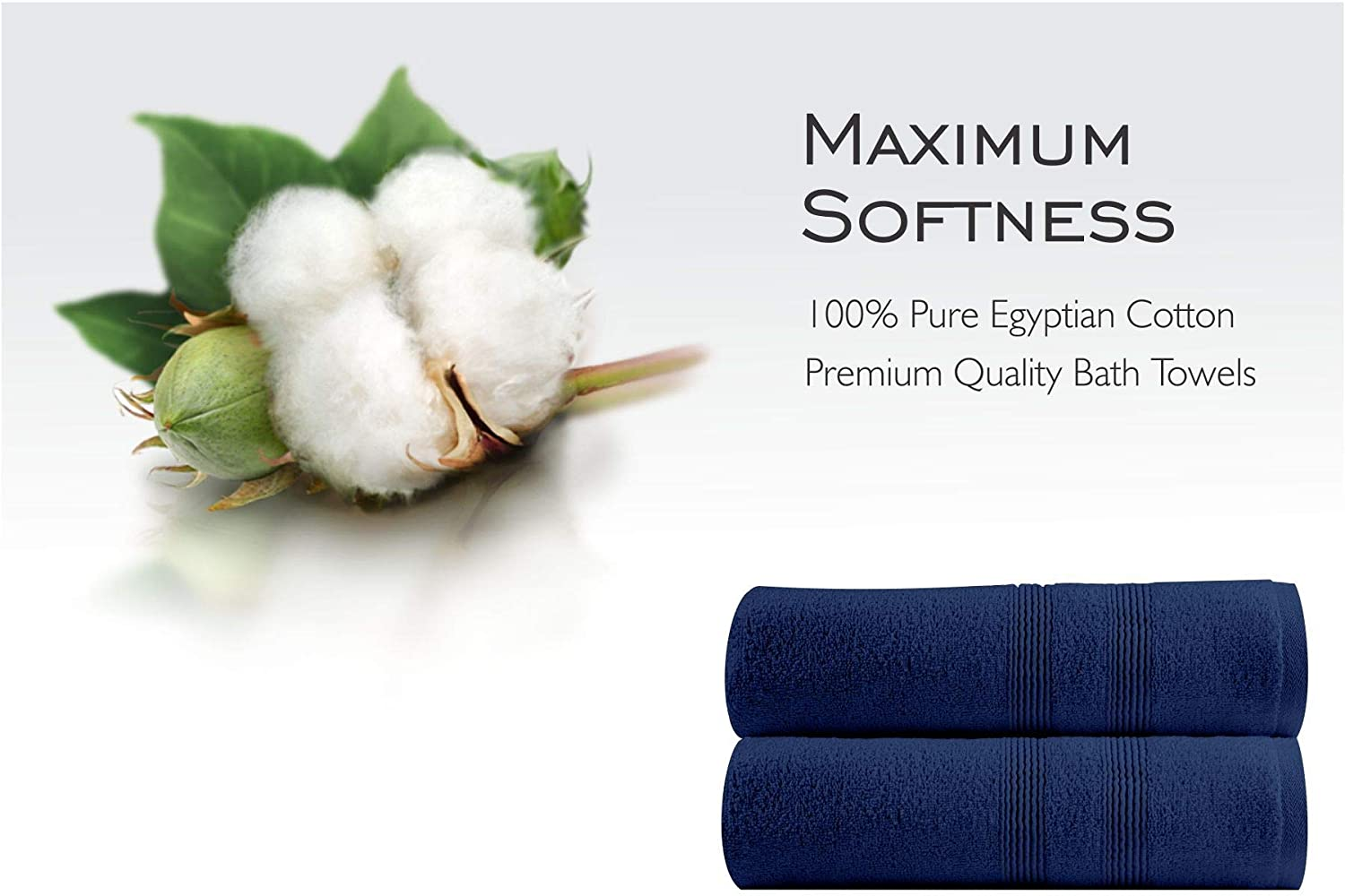 Quick Dry Premium 500 GSM 100/% Egyptian Cotton Highly Absorbent 2 Hand Towels Soft Feel Hand Towel Pack Towels Set Craft Native White, 2 Hand Towels