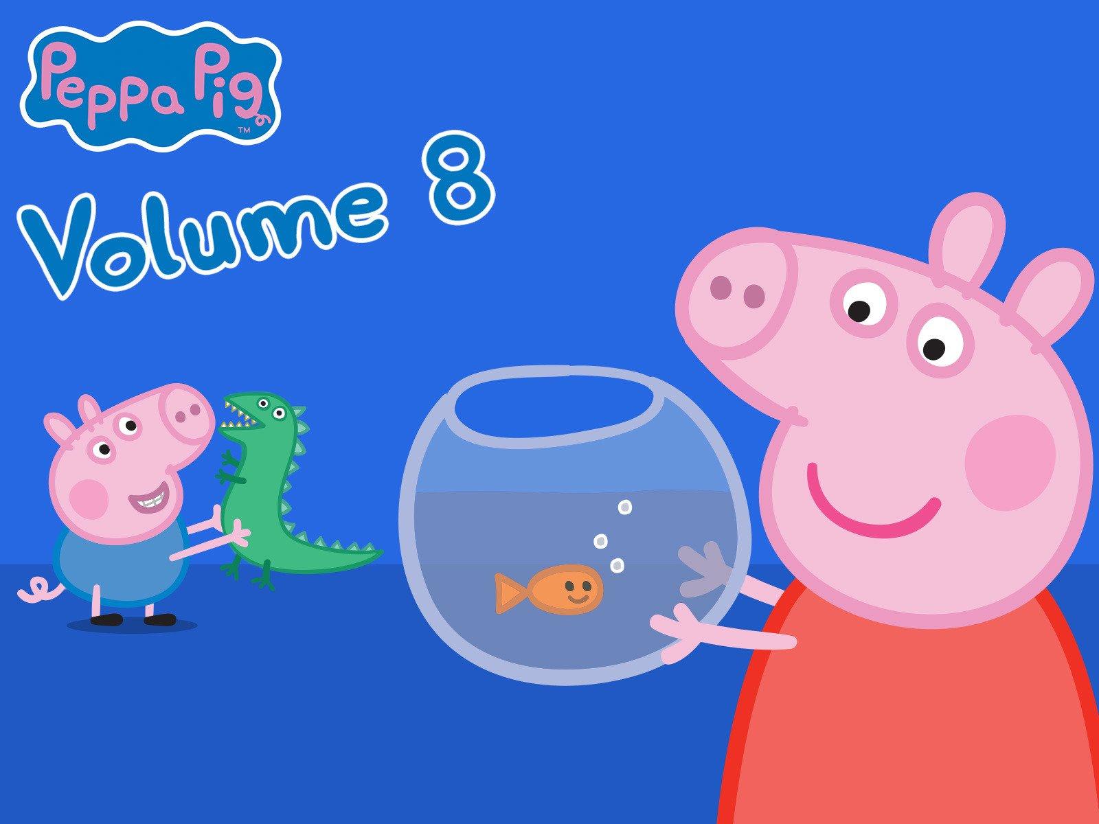 Amazon co uk: Watch Peppa Pig - Volume 8 | Prime Video