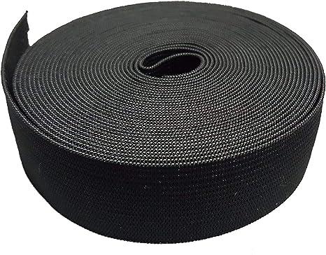 5CM de ancho 5 metros de largo Negro viscosa elástico que hace ...