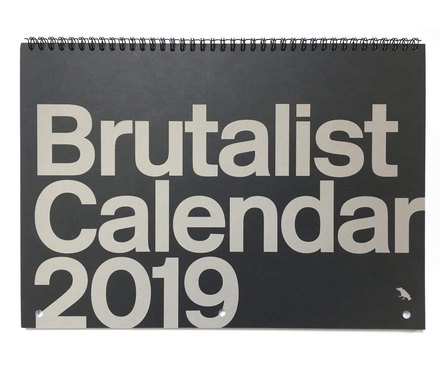 Brutalist Calendar 2019: Limited Edition Monthly