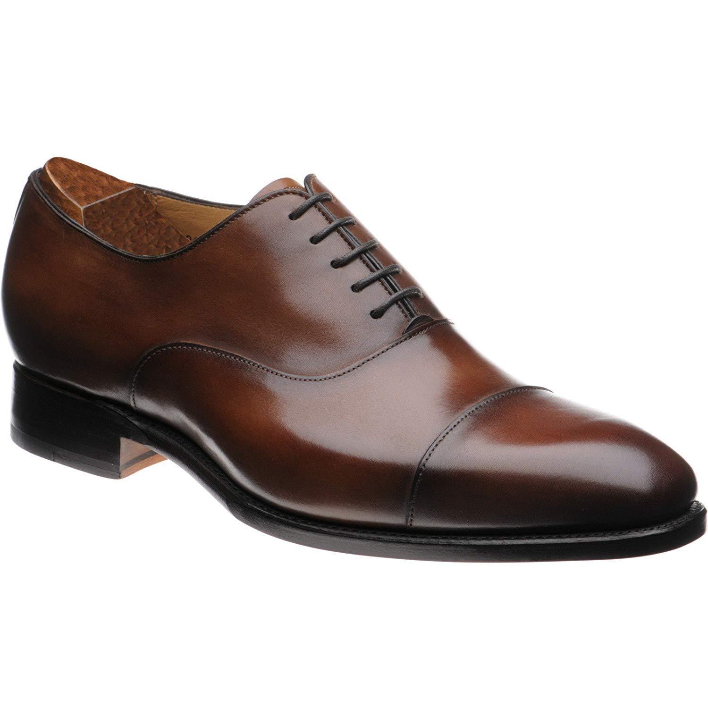 2276de593 Brown Leather Formal Oxford Toecap Shoes for Men