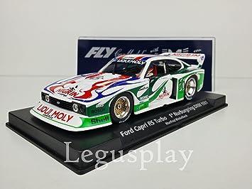 FLy Slot SCX Scalextric 99014 Ford Capri RS Turbo 1º Nurburgring DRM 1981 A142L: Amazon.es: Juguetes y juegos