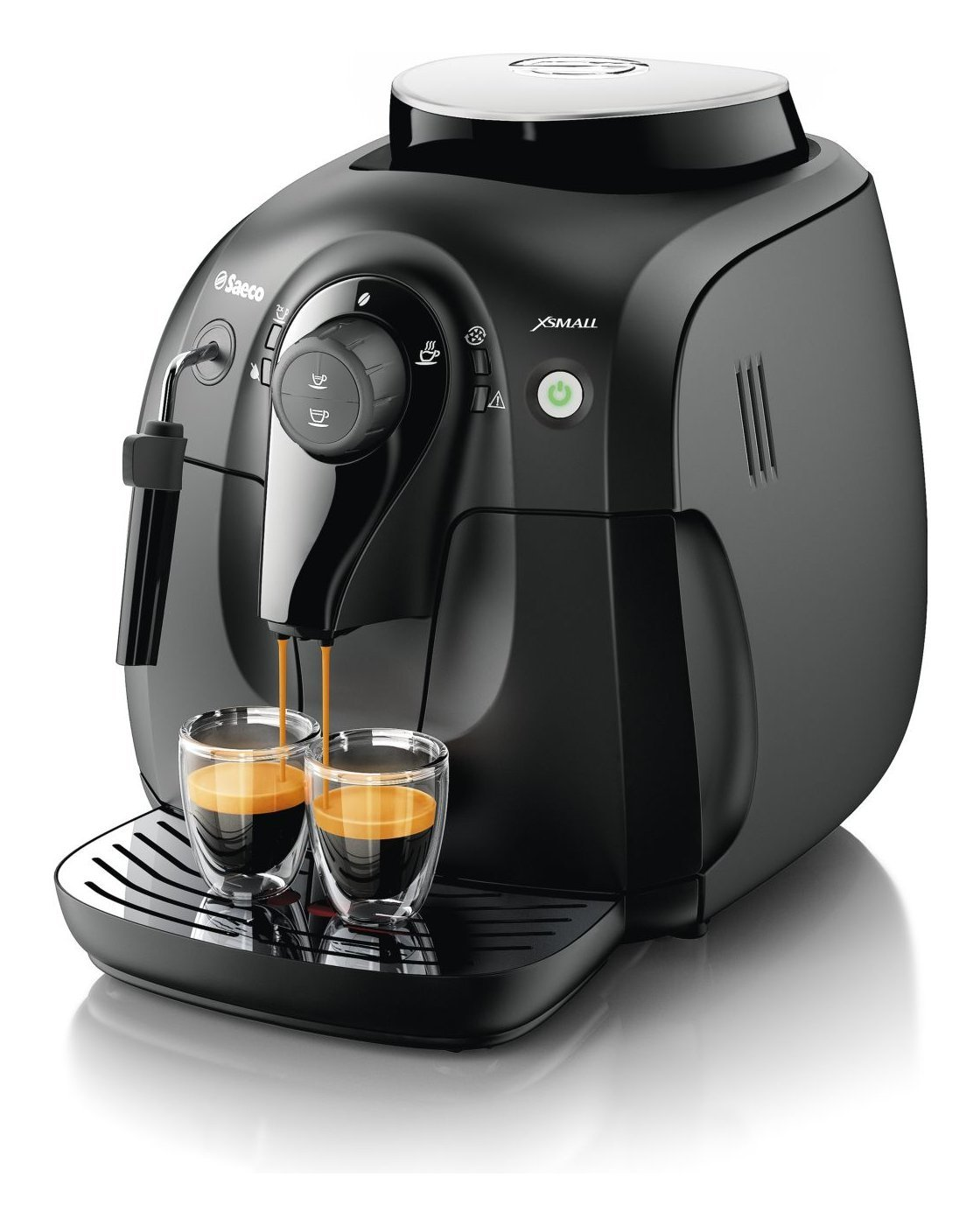 Saeco máquina de café automática HD8645/01 15 bar color negro: Amazon.es: Hogar