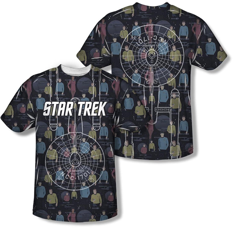 Star Trek - Mens Enterprise Crew T-Shirt