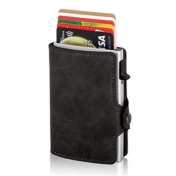 Damen Portmonee Geldbörse Geldbeutel Kreditkartentasche Leder Limited Edition