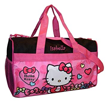 0463d80c355 Amazon.com | Personalized Licensed Kids Travel Duffel Bag - 18