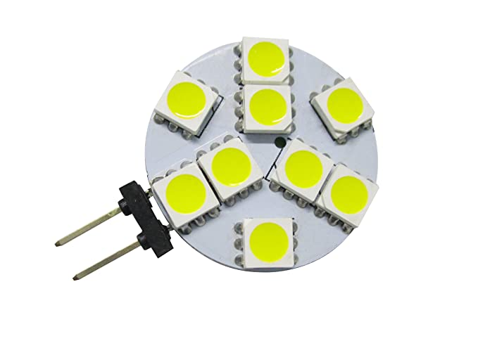 GRV G4 9-5050 SMD LED Bulb lamp Super Bright Cool White DC ...