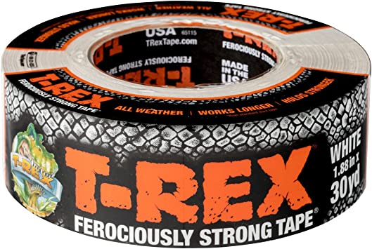 1.88 inch x 35 yd. 1 Roll 240998 T-REX Ferociously Strong Duct Tape