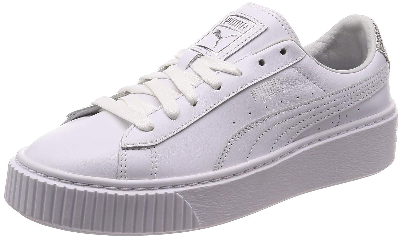 Puma Basket Platform Opulent White 369840 02: Amazon.co.uk