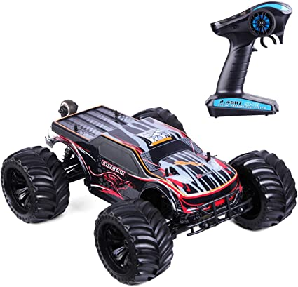 Fast Rc Cars 1 10 Scale High Speed Rc Trucks 80km H 4wd 2 4ghz Off Road Rc Trucks Rtr Remote Control Cars For Adults With 120a Esc Waterproof Racing Amazon Ca Sports Outdoors