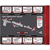Real Avid Smart Mat: Gun Cleaning mat, Non-Slip, Oil and Solvent Resistant, Padded, with Integrated Magnetic Parts Tray