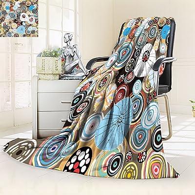 "Nalahomeqq Microfiber All Season Blanket/Flannel Fleece Blanket/Luxury Blanket/Heavy Warm Blanket-Wrinkle and Fade Resistant Hypoallergenic Fleece Blanket-90"" x 108""(abstract texture)"