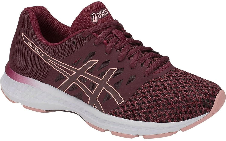 ASICS Women's Gel-Exalt 4 Running Shoe B077NHB63Z 9 M US|Port Royal/Frosted Rose