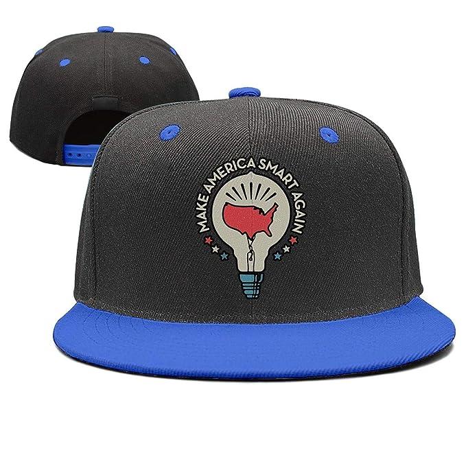 Unisex Cool Unique Let s-Make-America-Smart-Again Snapback Hats for Women de36181c92ba