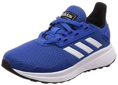 uk availability 4ab70 0e160 adidas Unisex-Kinder Duramo 9 Fitnessschuhe Blau (AzulFtwblaNegbás 000)