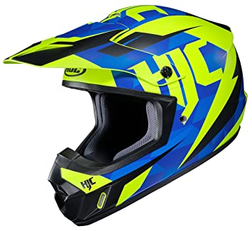 HJC Cs-Mx II Dakota azul casco de Motocross – pequeño