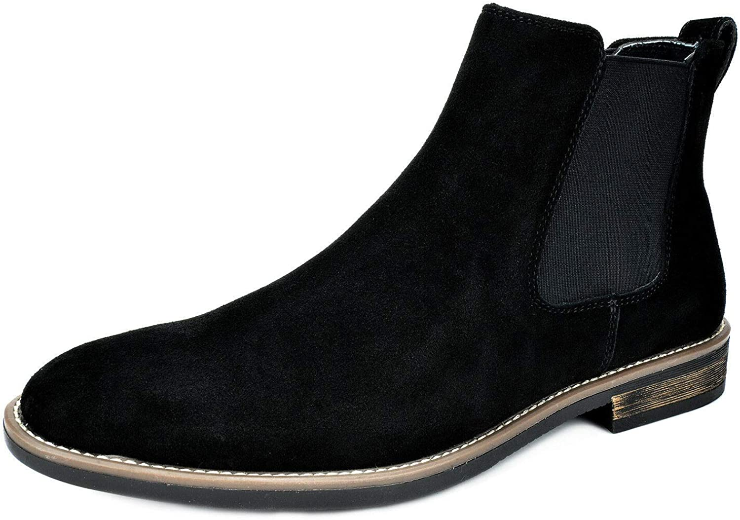 Bruno Marc Men's Suede Leather Chukka Ankle Boots