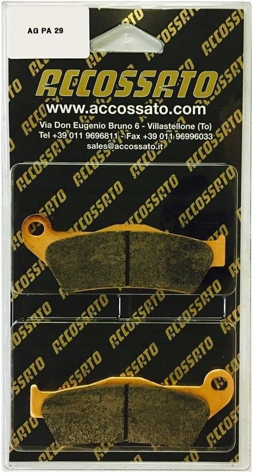 MOTO GUZZI  1200 SPORT 8V 2012 Accossato Pastiglia freno AGPA29ST 1200