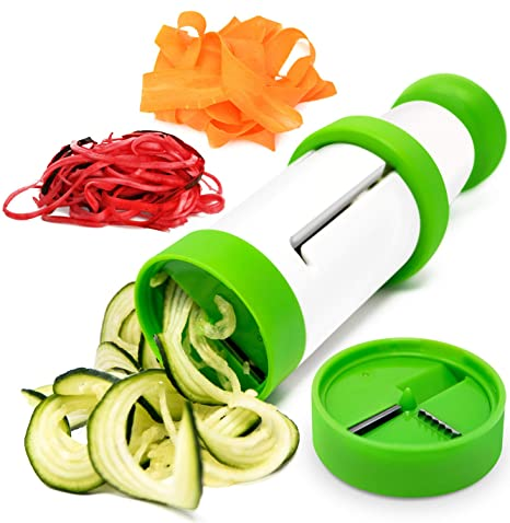 Epare Veggie Spiralizer - Zucchini Spiral Pasta Slicer - Handheld Vegetable  Noodle Maker - Zoodle Cutter Kitchen Tool