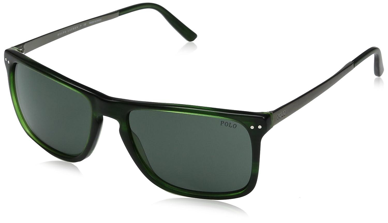 Ralph Lauren POLO 0PH4119 Gafas de sol, Vintage Green, 56 para ...