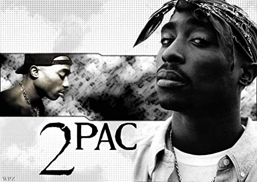 BUY 2 GET ANY 2 FREE A3 SIZE 2PAC TUPAC POSTER ART PRINT A4