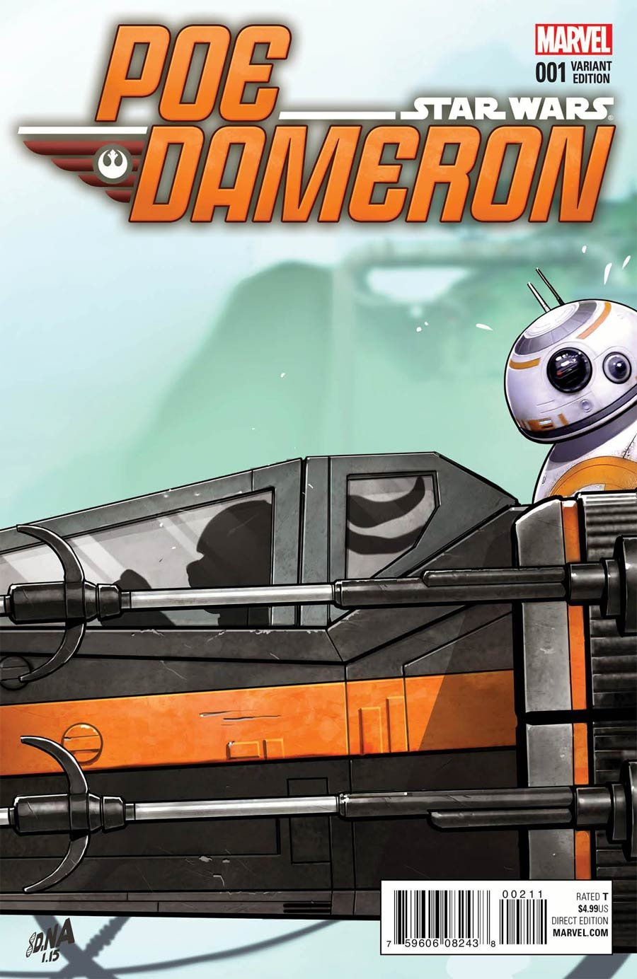 Download Star Wars Poe Dameron #1 Cover E Variant Celebration Cover ebook