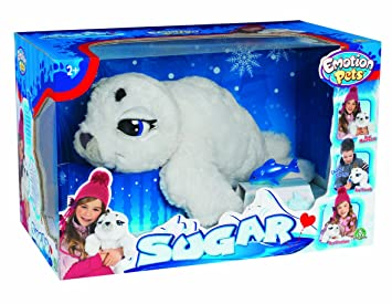 Emotion Pets Sugar The Seal - Foca de peluche
