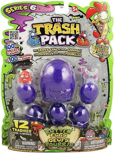 Huevos podridos Trash Pack, 12 unidades: Amazon.es: Electrónica