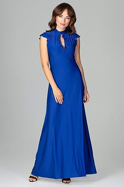 LENITIF Damen Abendkleid im eleganten Look: