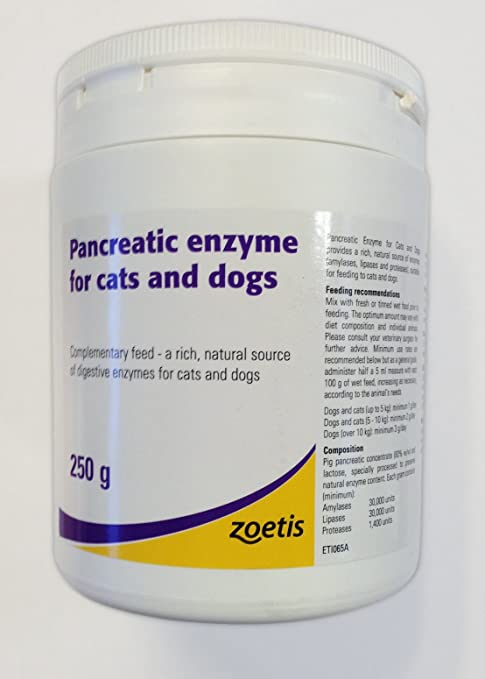 Pancreatic Enzyme For Cats & Dogs: Amazon.es: Productos para ...