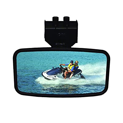 "CIPA 11140 Safety Rearview Marine 4"" x 8"" Mirror: Automotive"