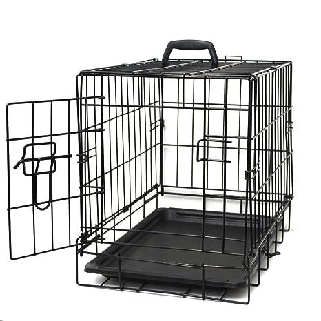 Paws \u0026 Pals 20\u0026quot; Wire Metal Cage Pet Cat/Dog Single Door Kennel Crate  sc 1 st  Amazon.com & Amazon.com : Paws \u0026 Pals 20\