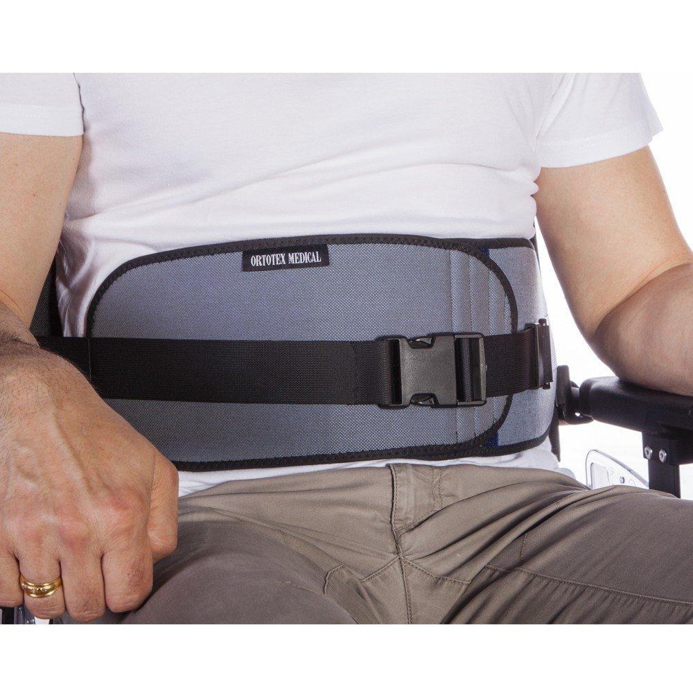 Cinturón abdominal abierto, para silla de ruedas, sillas o ...