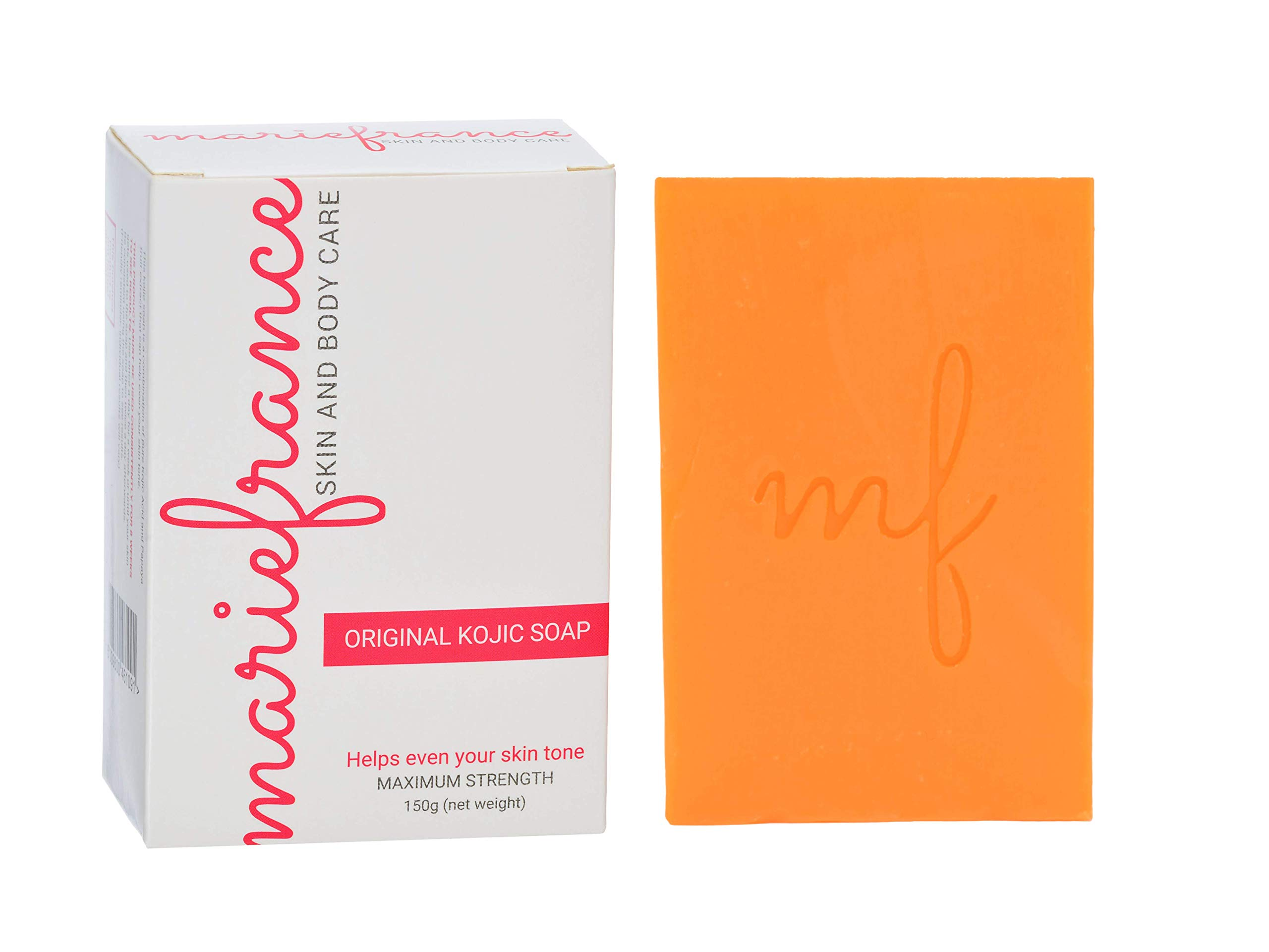 Pure Kojic Acid Soap (Maximum Strength) for Dark Spots & Hyperpigmentation, Helps Even Skin Tone (Not for Sensitive Skin)