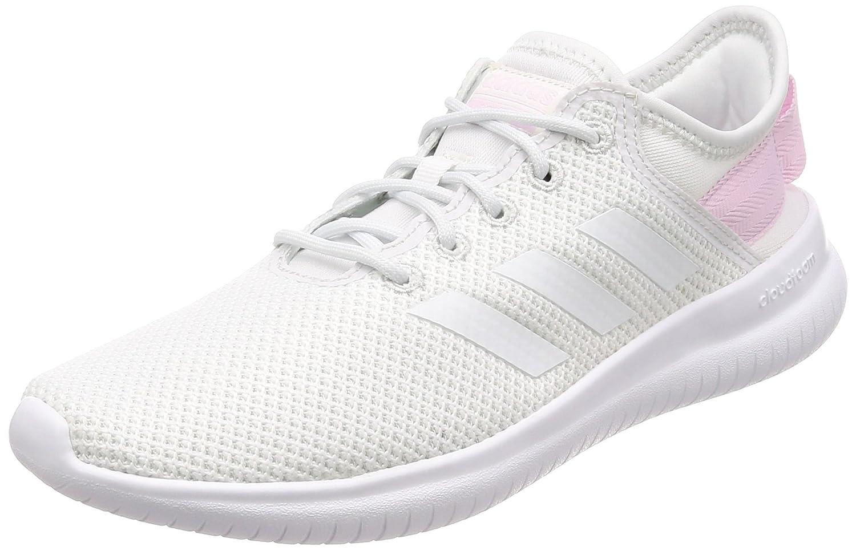 adidas Damen Cloudfoam QT Flex Gymnastikschuhe  42 EU|Wei? (Balcri / Balcri / Aerorr 000)