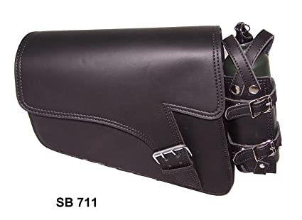 Motorcycle swing arm bag Solo Side Bag Single Saddlebag For Harley Davidson  Sportster 883 0db53d35dfe8e