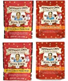 Newman's Own Organic Snack Sticks Dog Treats 2 Flavor 4 Bag Variety Bundle: (2) Newman's Own Chicken & Rice Recipe, and (2) Newman's Own Chicken & Sweet Potato Recipe, 4 Oz. Ea. (4 Bags Total)