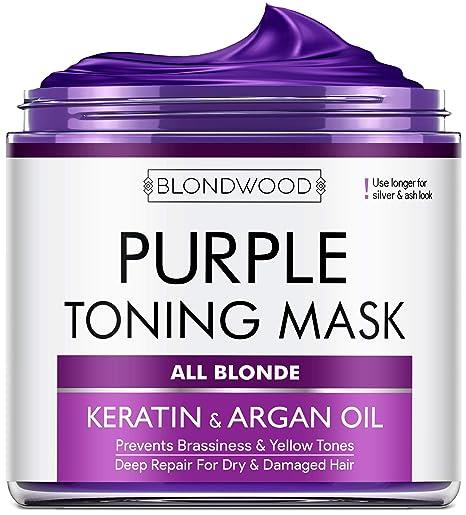 BLONDWOOD purple Hair Mask