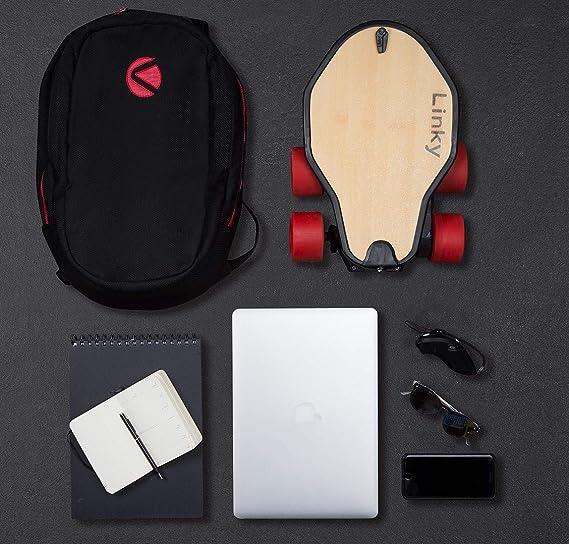 Amazon.com: Linky Longboard eléctrico plegable, monopatín ...