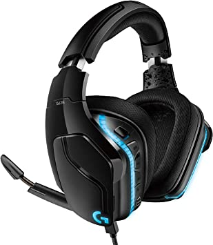Logitech G635 Auriculares Gaming RGB con Cable, Sonido 7.1 Surround, DTS Headphone:X 2.0, Transductores 50mm Pro-G, USB/3.5mm Jack, Mic Volteable para Silenciar, PC/Mac/Xbox One/PS4/Nintendo Switch: Logitech: Amazon.es: Electrónica