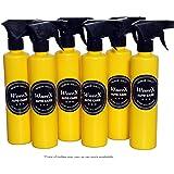 WaveX YSP6 Empty Spray Pump Bottle (350 ml, Yellow, 6 Pieces)