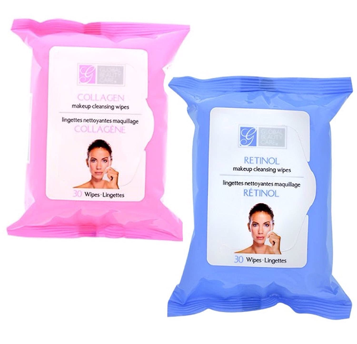 Amazon.com   Collagen   Retinol Makeup Wipes COMBO - 60 Wipes   Beauty 4885039c8c30f
