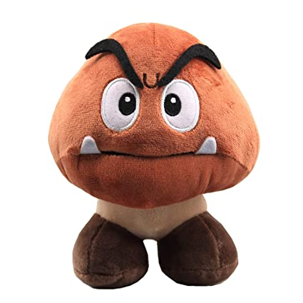 678d70d9a87 Amazon.com  uiuoutoy Super Mario Bros. Goomba Plush 6    Toys   Games