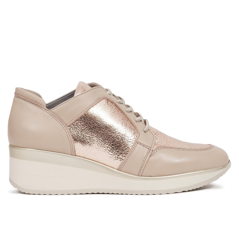 Zapato Deportivo Mujer Memory Foam Oro Rosa 37 EU
