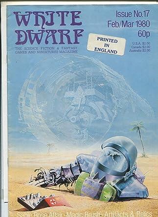 amazon com white dwarf 17 1980 tsr dd rpb magazine mbx68