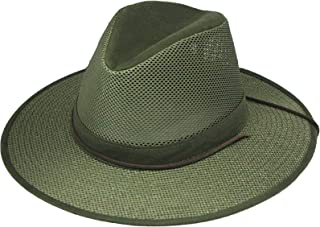 product image for Henschel Hats Breezer Aussie Hat, Olive Green, Boxed Large
