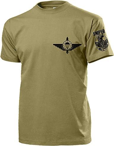 emfv Sniper European Militar En paracaídas Vendajes Caza lehrgang Curso Formación nadadores Emblema tiro – Camiseta # 17446: Amazon.es: Ropa y accesorios