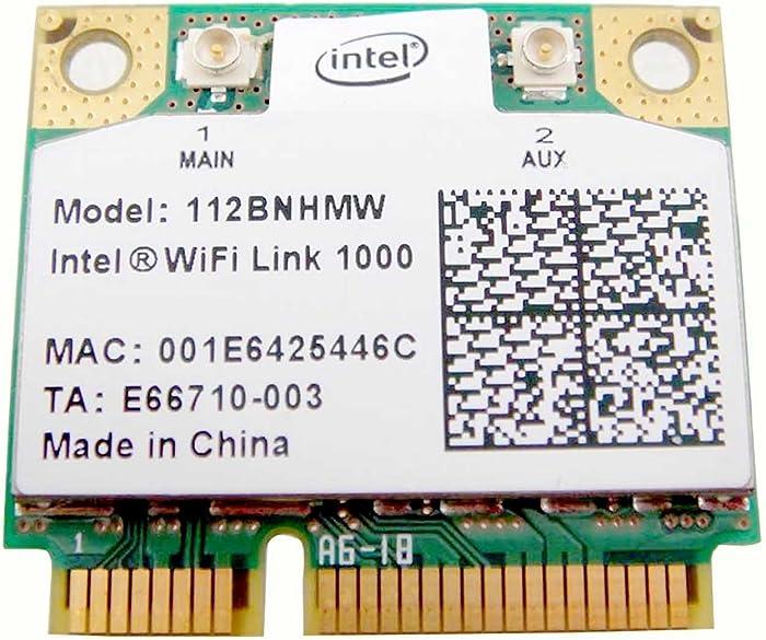 Intel 1000 112BN_HMW Half Mini PCIe PCI-express Centrino Wireless WLAN Wifi Card Module for IBM Lenovo 60Y3203